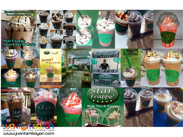 Star Frappe, Milk Tea, Shakes, Coffee Franchise