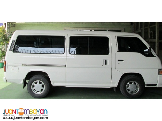RENT A CAR NISSAN URVAN