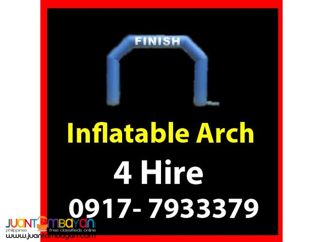 Inflatable Arch Rental Hire Manila Philippines