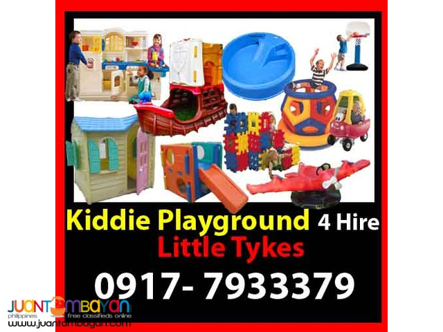 Kiddie Playground Rental Hire Manila Philippines