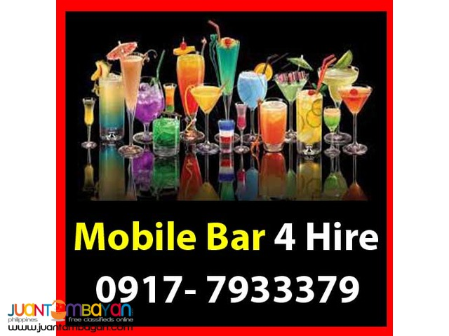 Mobile Bar Rental Hire Manila Philippines