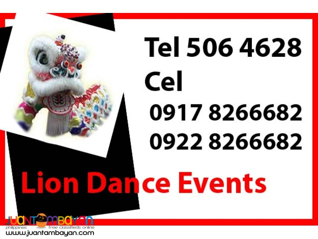 Lion Dance Events Rental Hire Manila Philippines