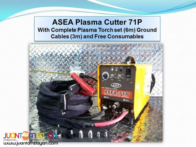 Plasma Cutter- ASEA 71P DC Inverter Type Welder