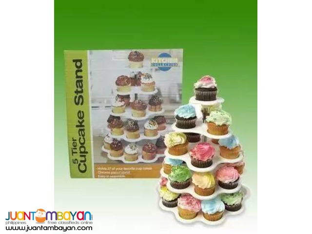 5 Tier Cupcake Stand 27 Cupcake Holder Stand