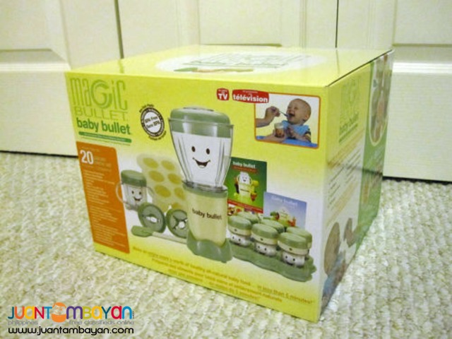 Baby Bullet 20pc Set Complete Baby Food Making System Processor