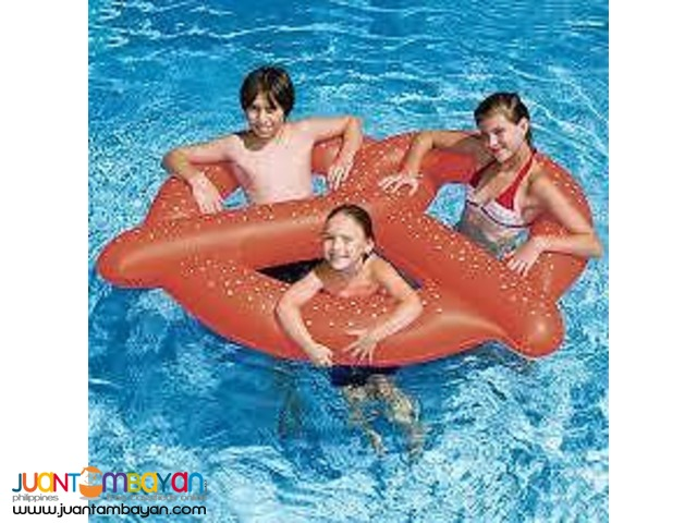 Giant Pretzel Pool Inflatable Floater
