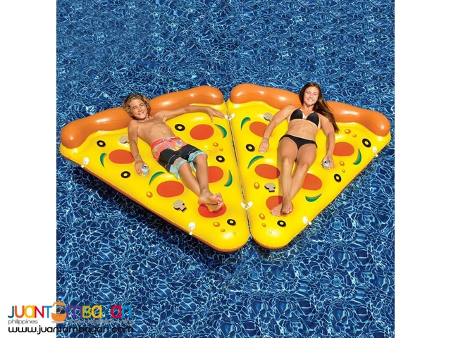Pizza Pool Inflatable Floater