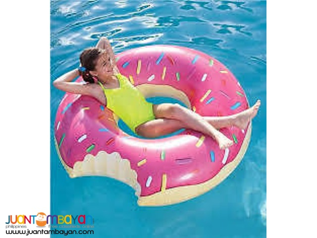 Giant Donut Pool Inflatable Floater