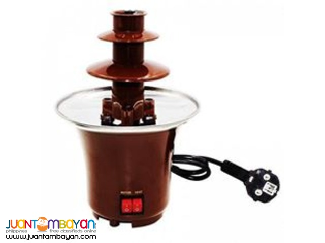 Mini Chocolate Fondue Fountain for Parties