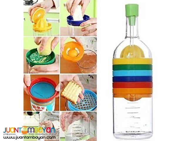 Bin 8 Multi-Function Kitchen Tool Like Bottle