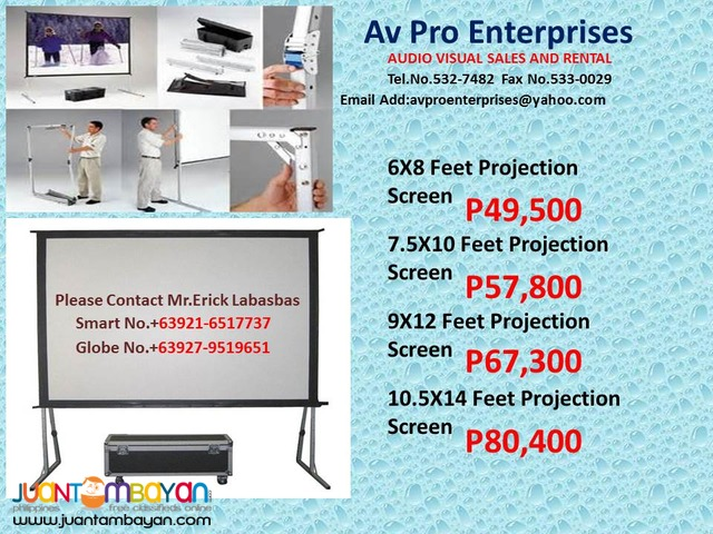 Lcd and dlp projectors for sale