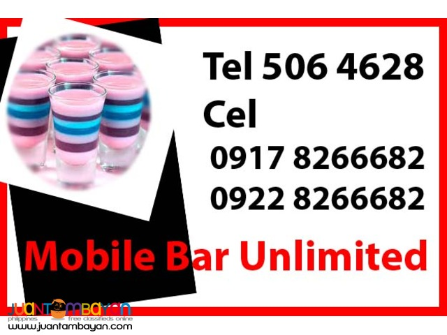Mobile Bar Unlimited Rental Hire Manila Philippines