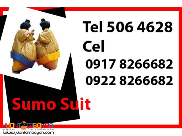 Sumo Suit Rental Hire Manila Philippines