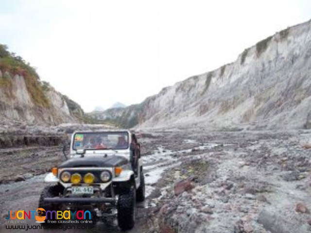 Popular activity, Mt Pinatubo tour