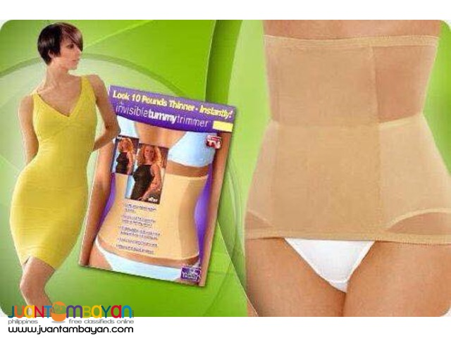 Invisible Tummy Trimmer Look 10 Pounds slimmer in an instant