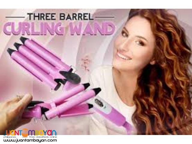 3 Barrel Hair Styler Curler