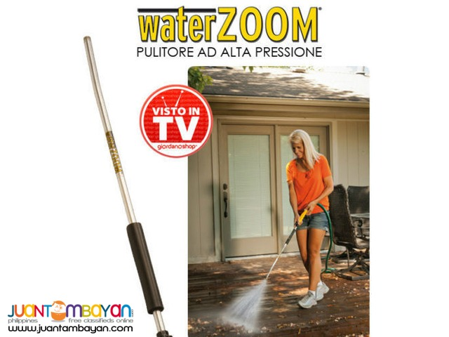 Water zoom high pressure cleaner