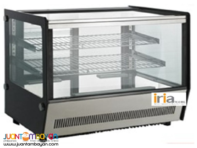 CAKE CHILLER SHOWCASE (Countertop, Square-shaped)