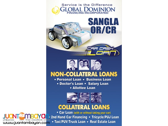 Loan/ Financing/ Ofw and Seaman