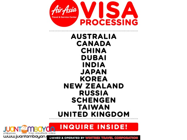 Wintrex Tour Packages - Land Arrangement and Visa Assistance
