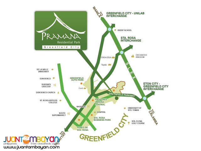 Prime Lot at Pramana Residential Park (Near Nuvali) NEGOTIABLE