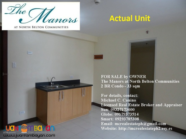 For Sale by Owner Two 2 Bedroom Condo The Manors North Belton QC