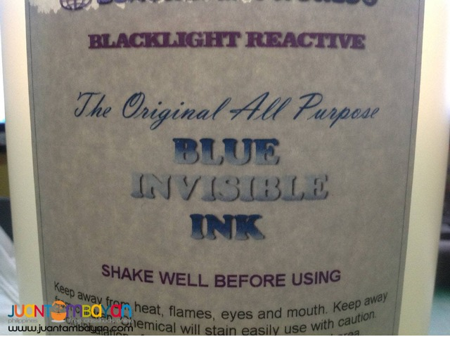 UV Ink - Invisible Ink