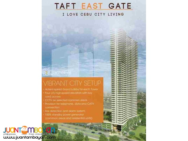 Condo Studio type for sale as low as P17,808 mo amort