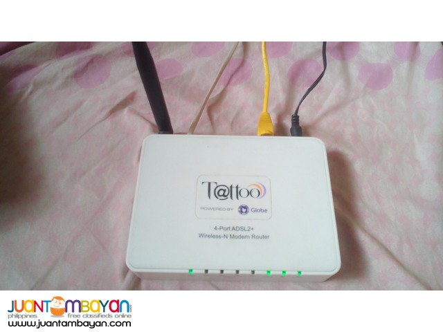 2 wifi modem router & 2 corded phone plus 1 caller i.d