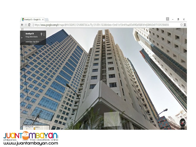 Prime 580 SQMS. Office Condo For Rent Lease in Ortigas Center Pasig