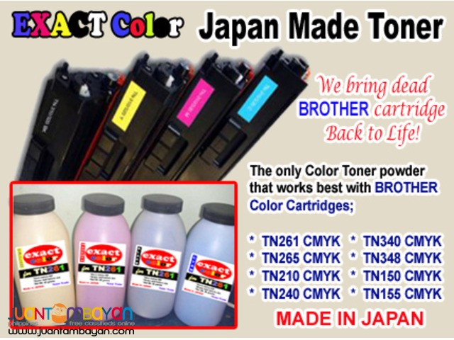 Brother Color Toner Refill in Metro Manila TN261 TN240 TN340 TN155