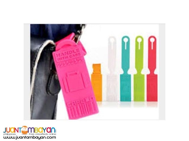 Silicone Rewritable Luggage bag