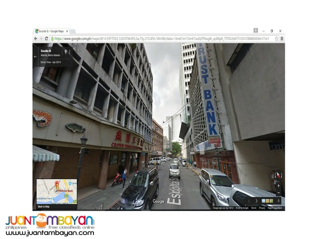 For Rent / Lease Escolta Manila 2,309 SQM Office Commercial Space