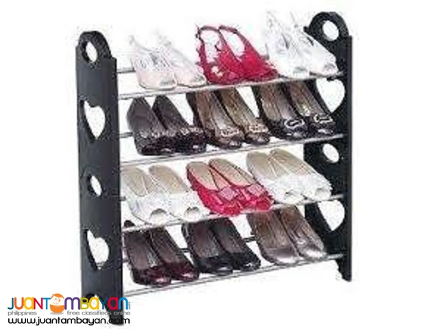 Stackable Shoe Rack can hold upto 12 Pairs shoerack shoe storage