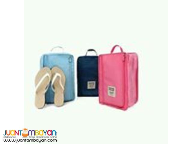 Monopoly Folding Travel Shoe Bag