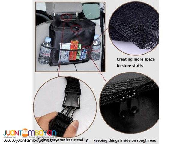 Multi-Pocket Travel Car Cooler Organizer