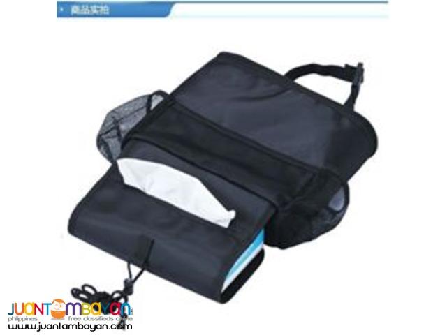 Multi-Pocket Travel Car Cooler Organizer