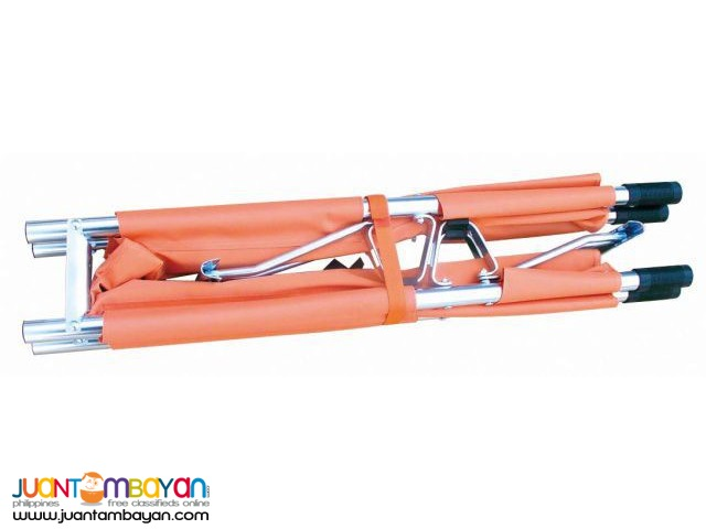 Stretcher Aluminum Alloy Fold Away Two fold with bag