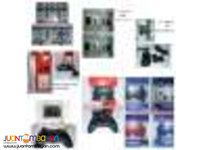 Ps3 controller Xbox 360 controller and battery pack