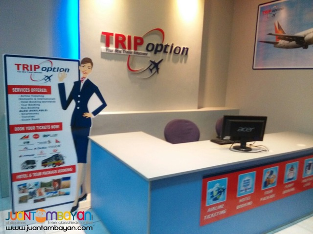 Try your Ticketing Business with Trip Option