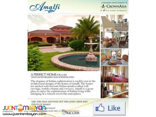 Pearl Of Amalfi By Crown Asia – Luxury Homes For Sale In Cavite