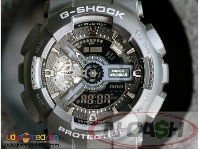 N-CASH Watch Pawnshop Philippines - Casio G-Shock GA110-1B