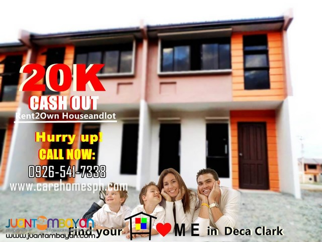 DECA CLARK PAMPANGA RENT TO OWN