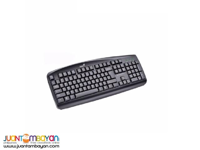 GENIUS KB-110 PS2 BLACK KEYBOARD