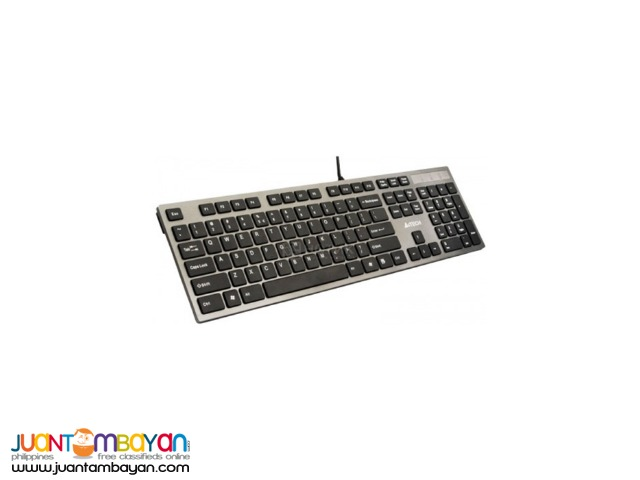 A4TECH KD-300 USB SILVER GRAY X-SLIM KEYBOARD