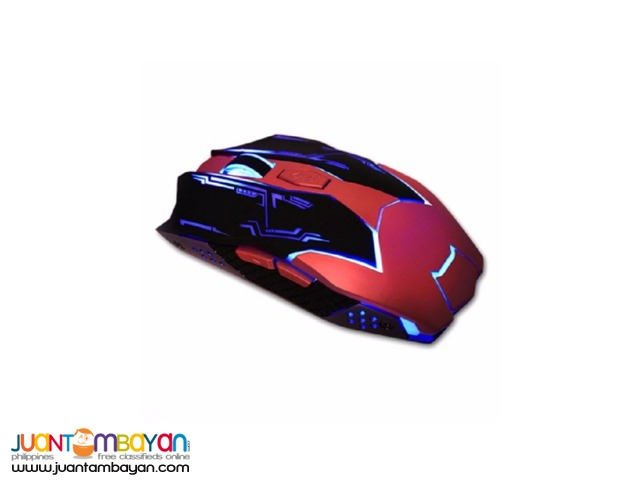 DRAGON BLAZE RED GAMING MOUSE LJ-802