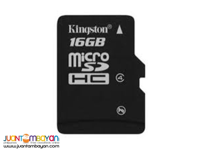 Kingston 16GB MICROSD CARD