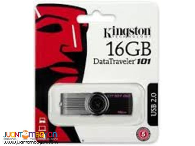 Kingston 16GB USB 2.0FLASH DRIVE