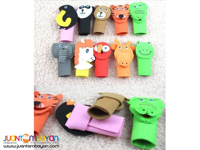Animal and Community Finger puppets story props