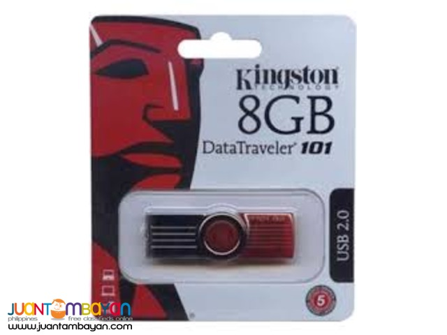 Kingston 8GB USB 2.0FLASH DRIVE
